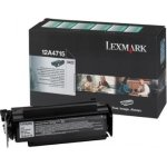 Lexmark 12A4715 lasertoner, sort 12000s