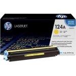 HP 124A/Q6002A lasertoner, gul, 2000s