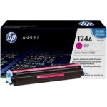 HP 124A/Q6003A lasertoner, rød, 2000s