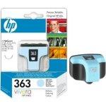 HP nr.363/C8774EE blækpatron, lys blå, 450s