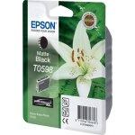 Epson nr.T059/C13T05984010 blækpatron, mat sort, 4