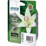 Epson T059/C13T05994010 blækpatron, lys lys sort