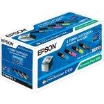 Epson C13S050268 lasertoner, sort+farve, sampak