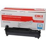 OKI 43460207 lasertromle, cyan 15000s