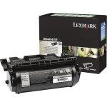 Lexmark 0X644H11E lasertoner, sort, 21000s