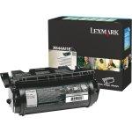 Lexmark 0X644A11E lasertoner, sort, 10000s