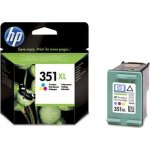 HP nr.351XL/CB338EE blækpatron, 3-farvet, 580s