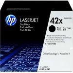 HP nr.42X/Q5942XD lasertoner, sort, 20000s, 2pk