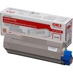 OKI 43865708 lasertoner, sort, 8000s
