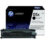 HP CE505X lasertoner, sort, 6500s