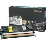 Lexmark 00C5340YX lasertoner, gul, 7000s