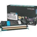 Lexmark 00C5240CH lasertoner, blå, 5000s