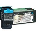 Lexmark 0C544X1CG lasertoner, blå, 4000s