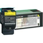 Lexmark 0C544X1YG lasertoner, gul, 4000s