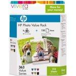 HP nr.363/Q7966EE blækpatroner og fotopapir sampak