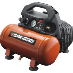 Black & Decker Kompressor, 0,5 HK, 6 L