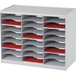 Paperflow Bakkesystem m. 24 rum, grå