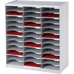 Paperflow Bakkesystem 36 rum, grå