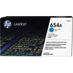 HP 654A/CF331A lasertoner, cyan, 15000s.