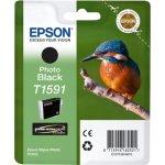 Epson T1591 blækpatron, fotosort, 17 ml