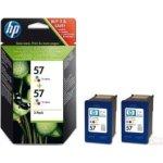 HP nr.57/C9503AE blækpatroner, farve, 400s, 2stk