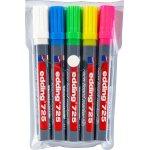 Edding 725 NEON whiteboard marker sæt m. 5 penne