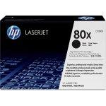 HP 80X/CF280XD Lasertoner, sort, 2 stk sampak