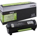 Lexmark 50F2X00 lasertoner, sort, 10000s
