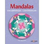 Mandalas malebog Eventyrlige enhjørninger