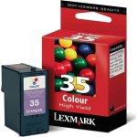 LEXMARK blækpatron 018C0035E, farve (480 sider)