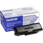 Brother TN3170 lasertoner, sort, 7000s