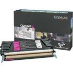 Lexmark 00C5220MS lasertoner, rød, 3000s