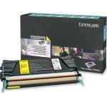 Lexmark 00C5220YS lasertoner, gul, 3000s