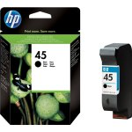 HP nr.45/51645AE blækpatron, sort, 930s
