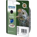 Epson nr.T0791/C13T07914010 blækpatron, sort, 400s