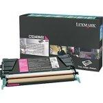 Lexmark 00C5340MX lasertoner, rød, 7000s