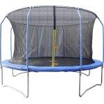 Trampolin med sikkerhedsnet Ø426 cm