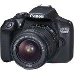 Canon Eos 1300D med objektiv 18-55