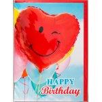 Fødselsdagskort, Ballon