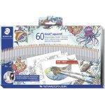 Staedtler Karat akvarel farveblyanter, 60 farver