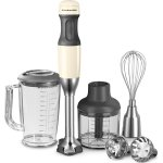 KitchenAid Multifunktionel Stavblender, Creme