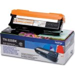 Brother TN325BK lasertoner, sort, 4000s