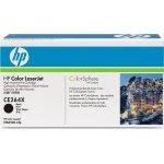 HP CE264X lasertoner, sort, 17000s