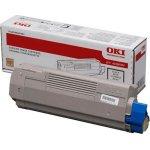 OKI 44036023 lasertoner, blå, 15000s