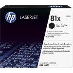 HP nr. 81X/CF281X Lasertoner, sort, 25000s.