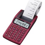 Casio HR 8 TEC strimmelregner, rød