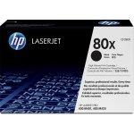 HP 80X/CF280X lasertoner, sort