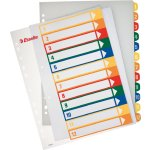 Esselte Maxi register A4, 1-12, til print