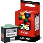 LEXMARK nr. 26/10N0026 blæk, 3-farvet (410 sider)