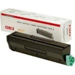 OKI 09004168 lasertoner, sort 6000s